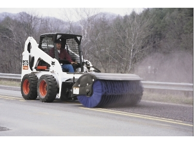 Angle Broom Attachment - Bobcat of Whitehorse and Doosan of