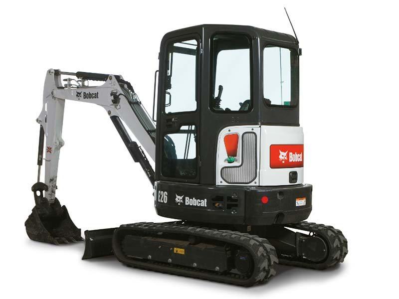 Bobcat E26 T4
