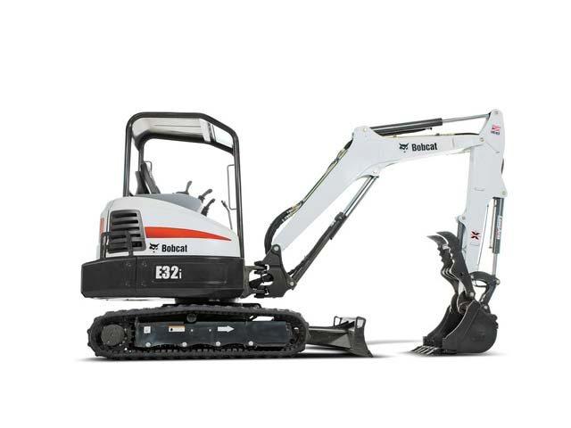Bobcat E32i T4