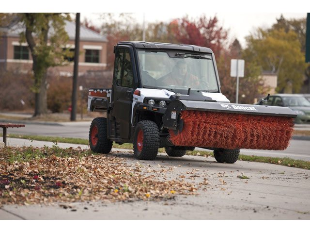 Utility Vehicle Angle Broom Attachment Bobcat Of